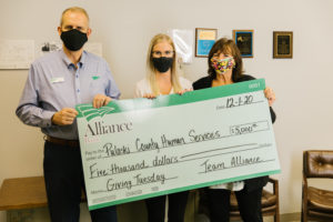 Giving Tuesday Gift to Pulaski County Human Services