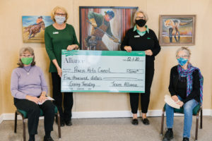 Prairie Arts Council Receive $5,000 on Giving Tuesday